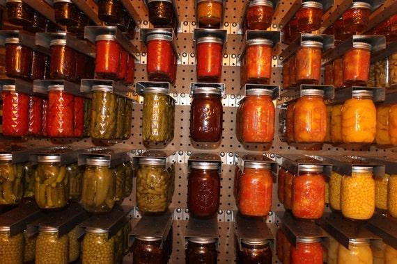 Gentil Mason Jar Storage   Momu0027s Mason Jar Rack (regular Mouth Jars)   2 Pack From  OtterLab On Etsy Studio