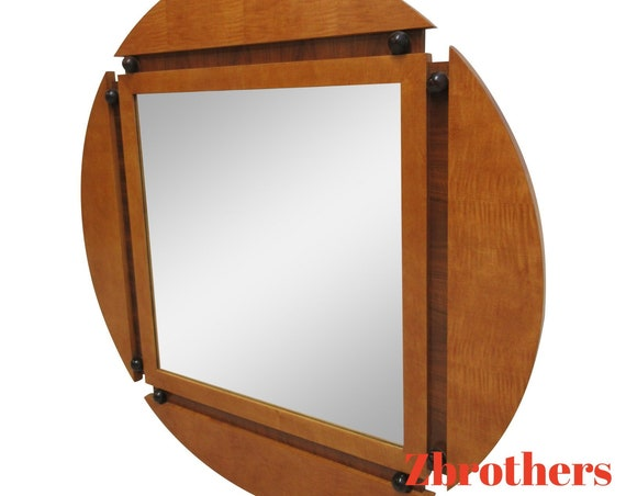 Hickory White Genesis Neo Classical Hanging Wall Mirror Biedermeier
