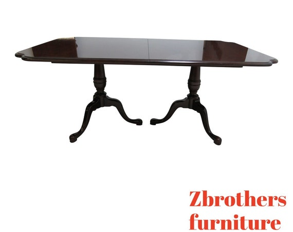Drexel Solid cherry Banquet Conference Dining Table Cookie Corners