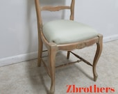 Vintage Spanish Regency Carved Ladies Writing Desk Side Chair