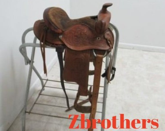"Quality Western 12"" Pony Saddle"