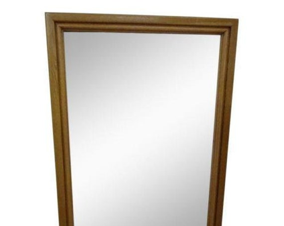 solid cherry dresser wall mirror