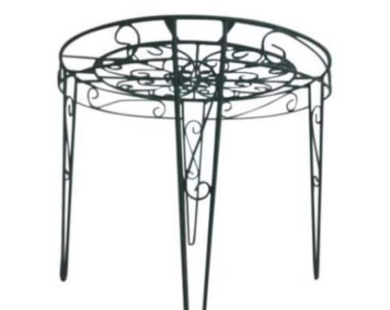 Vintage Hair PIn Outdoor Patio Porch Dining Round Dinette Table