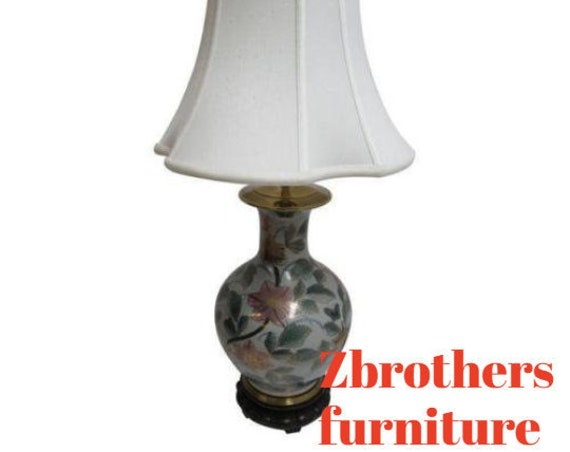 Ethan Allen Chinoiserie Table Lamp and Shade