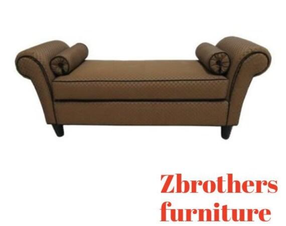 Kravit Furniture Long Window Seat Bench Settee