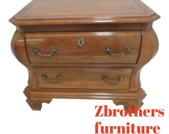 Vintage Century Furniture Bombay Lamp End Table Night Stand