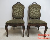 Henredon French Empire Dining Room Side Chairs A