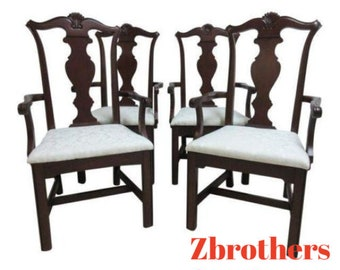Shell carved chairs etsy