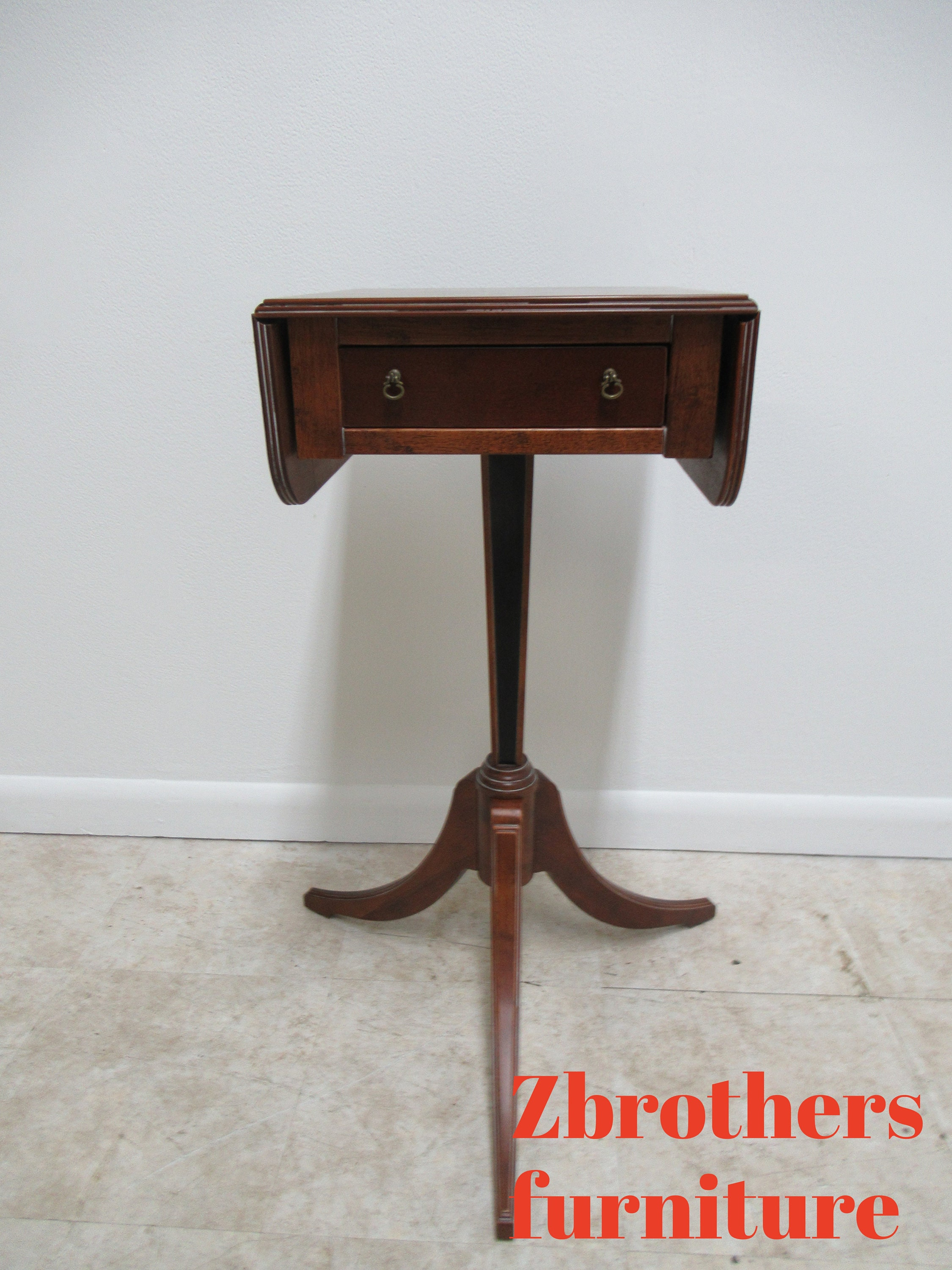 Magnificent Bombay Company Mahogany Drop Leaf Federal Style Lamp End Lamtechconsult Wood Chair Design Ideas Lamtechconsultcom
