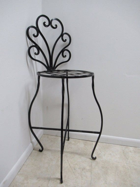 Collections Of French Provincial Wrought Iron Bar Stools