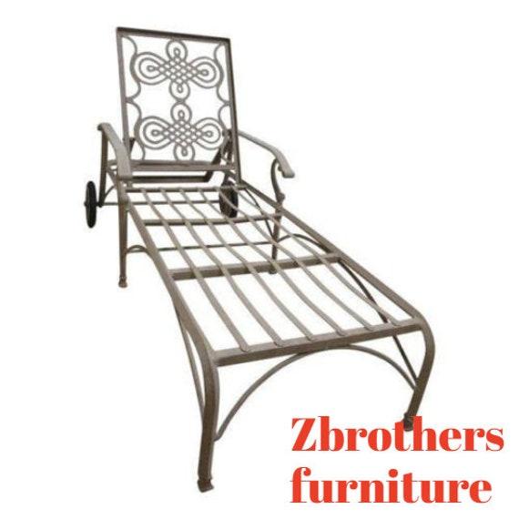 Landgrave Cast Classics Woodard Outdoor Patio Porch Chaise lounge Settee