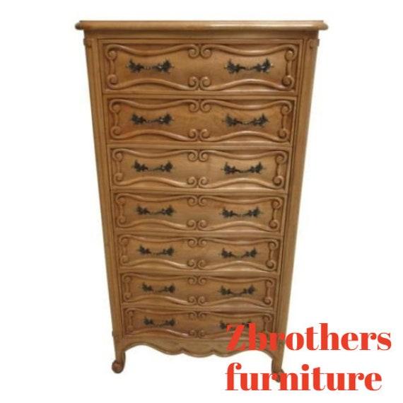 Custom Fremarc Design Country French Carved Lingerie Chest Dresser