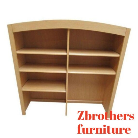 Ethan Allen American Dimensions Hutch Top Book Shelf Curio Hutch Bookcase B