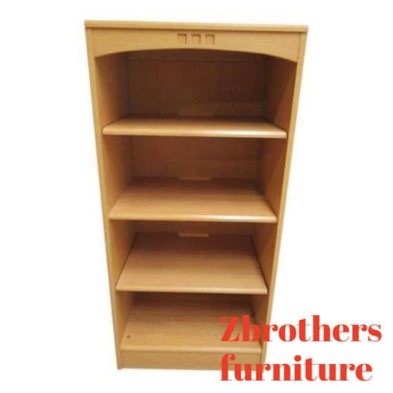 Ethan Allen American Dimensions Book Shelf Curio Hutch Bookcase C