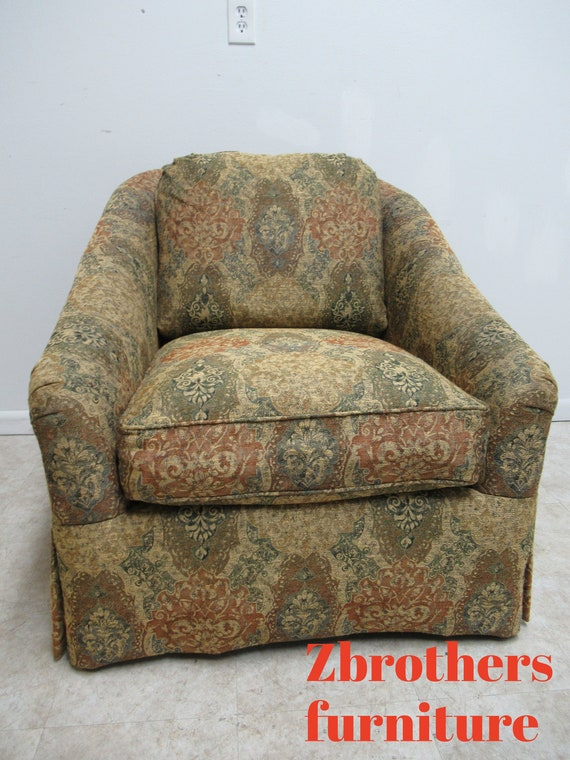 Custom Bob Machie Clayton Marcus Art Deco Style Club Lounge Chair Living room