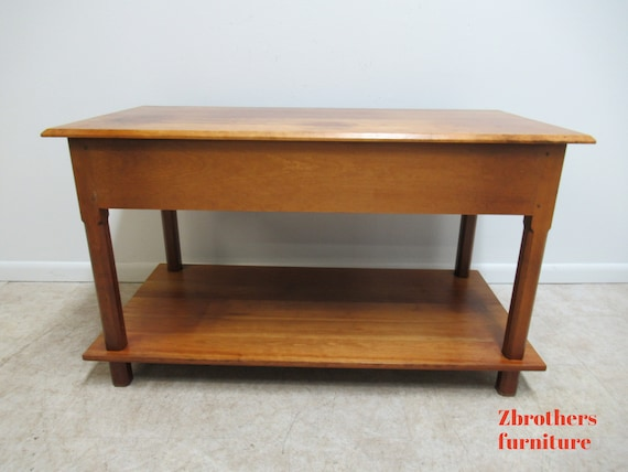David T Smith Cabinetmaker Shaker Style Work Table Credenza Console A