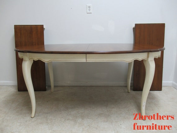 Ethan Allen Country French Dining Room Banquet Table