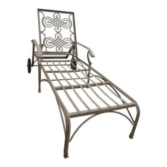 Landgrave Cast Classics Woodard Outdoor Patio Porch Chaise | Etsy