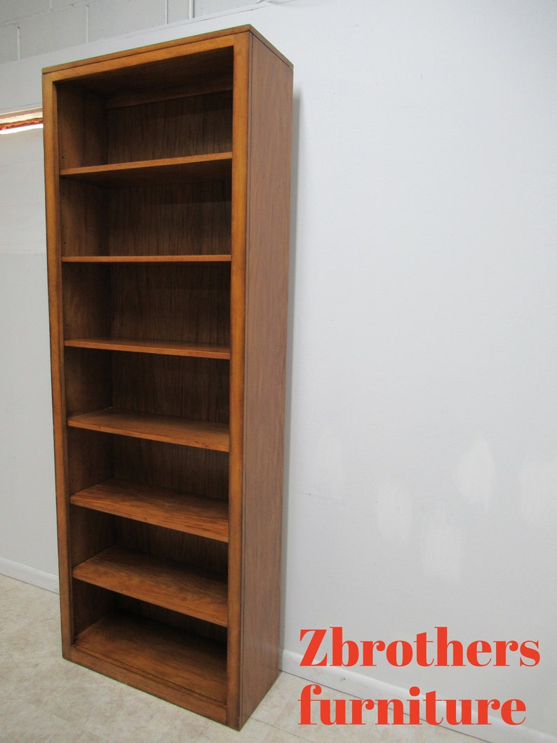 Ethan Allen Large Tango Bookcase Bookshelf Library Display Cabinet