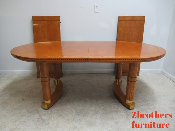 Hickory White Genesis Neo Classical Dining Room Conference Table Biedermeier A