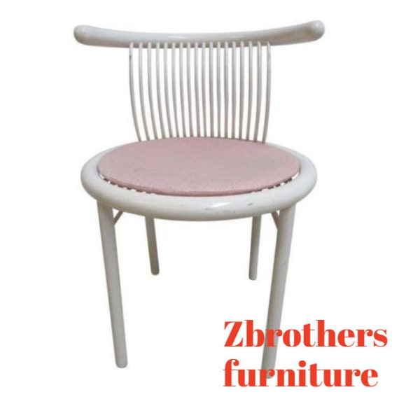 Vintage German Mid Century LÜBKE Side Desk Chair