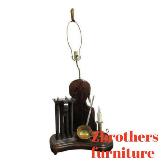 Antique Candle Makers Lamp Light
