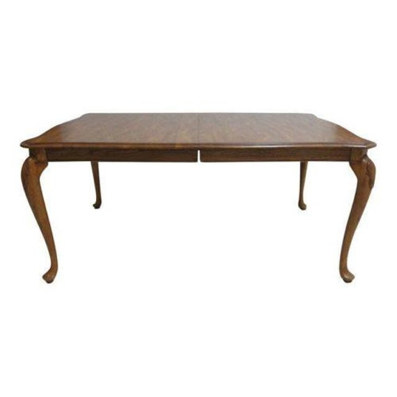 Tremendous Pennsylvania House Solid Oak Queen Anne Dining Room Banquet Conference Table Dailytribune Chair Design For Home Dailytribuneorg