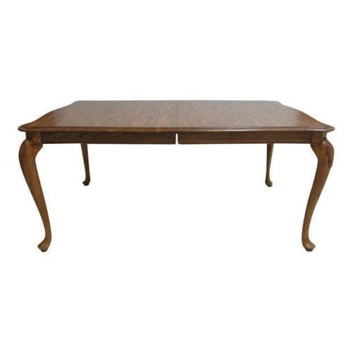 Queen Anne Dining Room Table: Pennsylvania House Solid Oak Queen Anne Dining Room