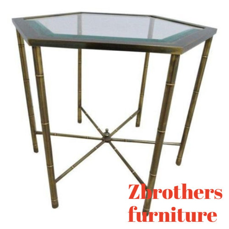 Prime Vintage Mastercraft Faux Bamboo Lamp End Table Regency Download Free Architecture Designs Scobabritishbridgeorg