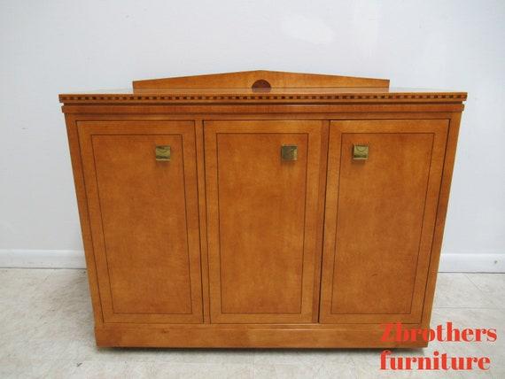 Hickory White Genesis Neo Classical Server Bar Liqour Cabinet Biedermeier A