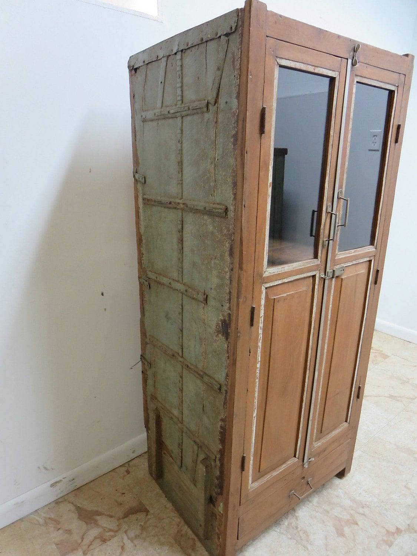 Antique Primitive architectural salvage Hutch China ...