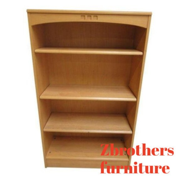 Ethan Allen American Dimensions Book Shelf Curio Hutch Bookcase A