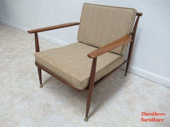 Fabulous Vintage Danish Modern Metal Low Slung Lounge Chair Andrewgaddart Wooden Chair Designs For Living Room Andrewgaddartcom