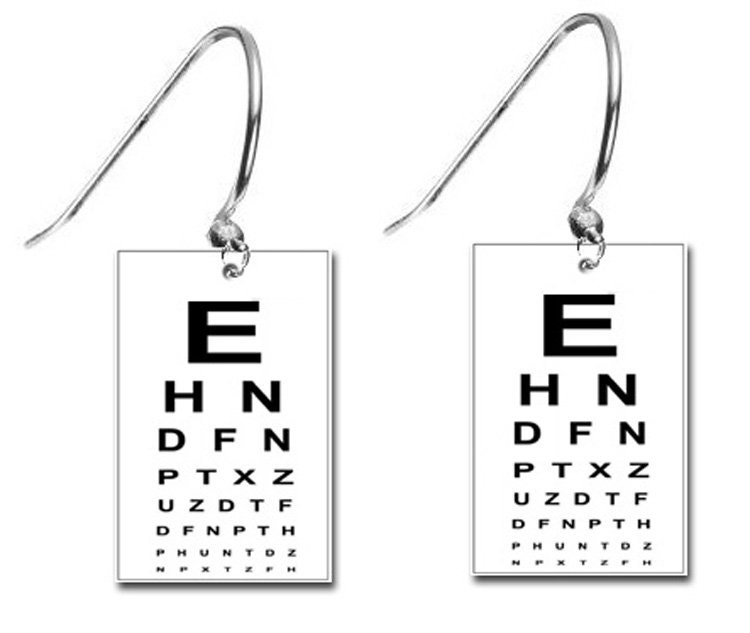 Eye Chart Optometrist Eye Doctor Vision Dr Retina Specialist Charm