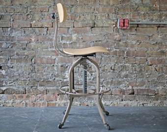 Outstanding Drafting Chair Etsy Caraccident5 Cool Chair Designs And Ideas Caraccident5Info