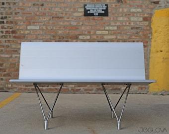 Aero bench designed by the legendary Lievore Altherr Molina