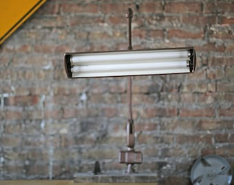 classic vintage floating fixture lamp by Dazor model p-2534