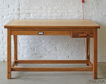 """restored vintage drafting table – completely restored vintage industrial """"Hudson"""" drafting table by Keuffel and Esser Co."""