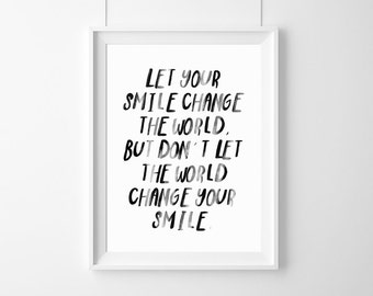 Let Your Smile Etsy