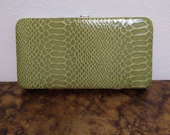 a131d1c914a Vintage vrouw groene portemonnee door apt. 9/Green Wallet/apt. 9 portemonnee/gift  voor haar/Moederdag geschenk/geschenken onder 20