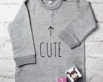 Child's Motif Jumper - Cute Sweatshirt - Slogan Jumper - Cute Sweater - Baby Sweatshirt - Child Sweatshirt - Cute Sweatshirt - Kidswear