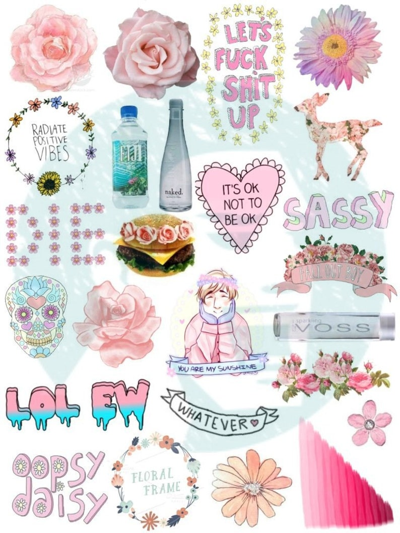 This is a graphic of Crazy Printable Stickers Tumblr
