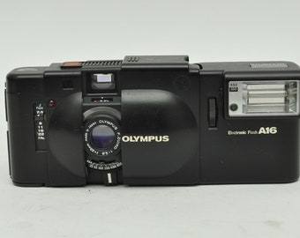 Olympus XA with Flash A16 Iconic Rangefinder Camera with Box