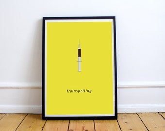 FREE SHIPPING** Trainspotting - Movie Poster, Poster, Movie, Trainspotting Print, Film Poster, Trainspotting Poster, Movie Print, Film