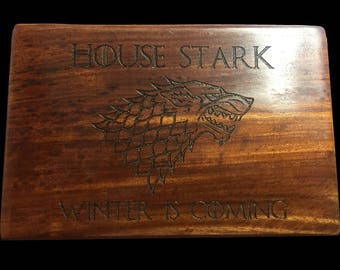 Game Of Thrones Wood Stash Box