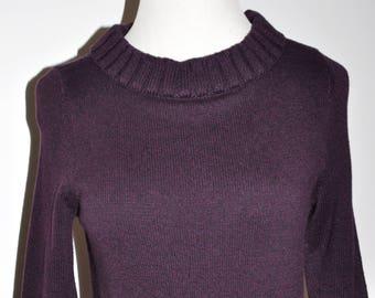 6abe4e03b Purple sweater dress