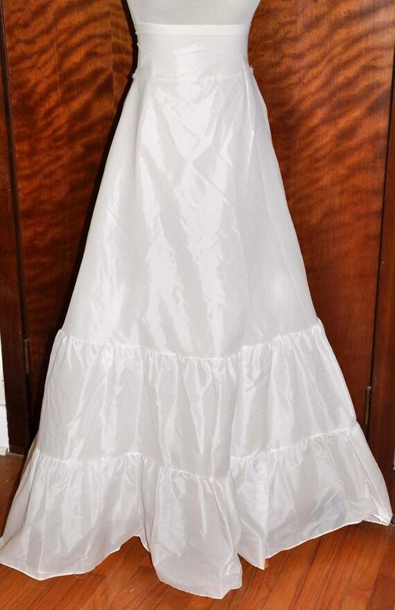 Vintage Wedding Slip Floor Length Slip By Sydney Bush Size Etsy