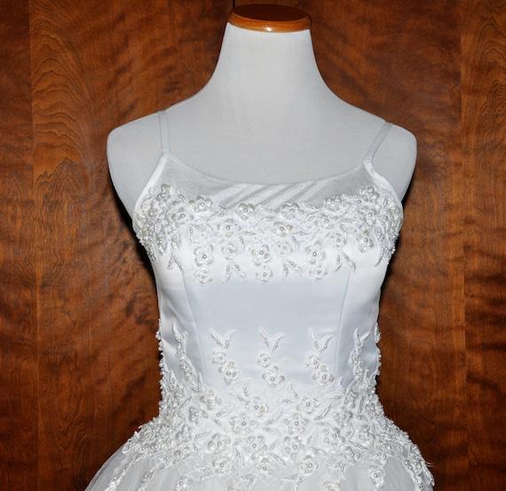 Oleg Cassini Wedding Gown Oleg Cassini Bridal Gown White Etsy