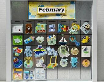 Baby Boy Perpetual Calendar