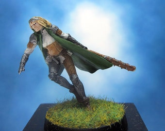 Painted Ral Partha Mage Knight Miniature Demi Magus